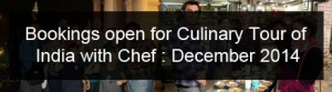 Chef Tour of India